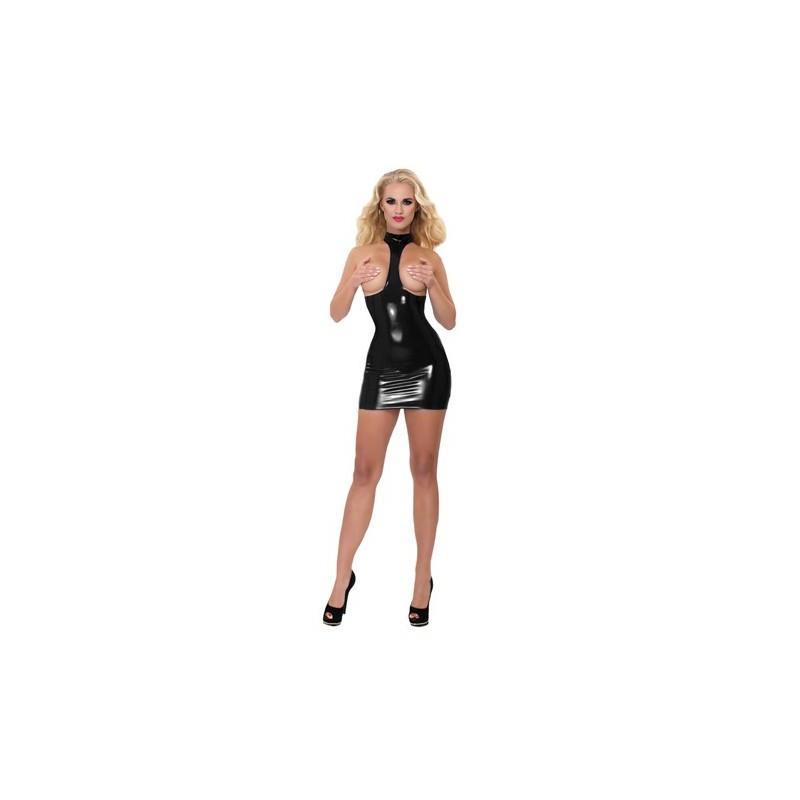 40023da3428d3e Laat jezelf zien in dit spannende latex jurkje van Guilty Pleasure! Het  Datex jurkje is gemaakt van latex